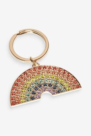 Multi Rainbow Keyring