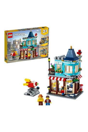 LEGO 31105 Creator 3-In-1 Townhouse Toy Store Construction Set