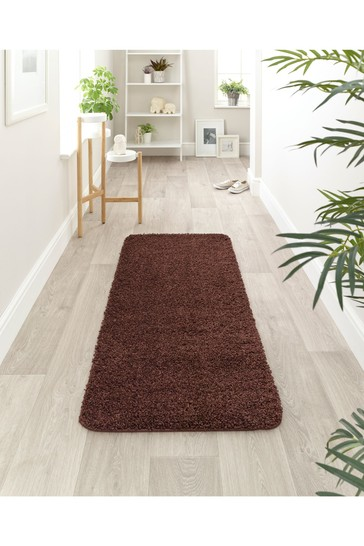 My Rug Chocolate Soft Stain Resistant And Washable Rug