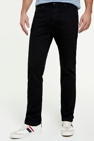 U.S Polo Assn. Black Slim Denim Jeans