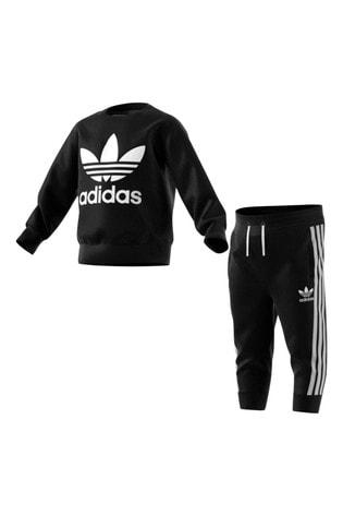 adidas Originals Infant Crew And Joggers Set