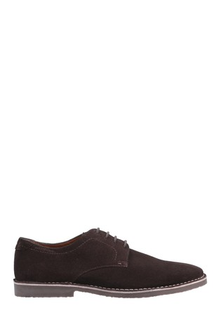 Hush Puppies Brown Archie Lace-Up Shoes