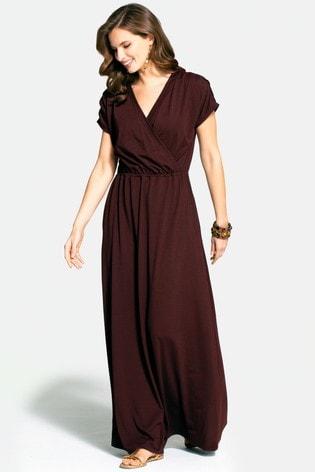 HotSquash Brown Maxi Dress