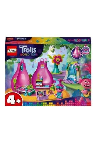 LEGO 41251 Trolls 4+ Poppy's Pod Portable Travel Set