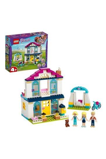 LEGO 41398 Friends 4+ Stephanie's House Mini Doll Play Set