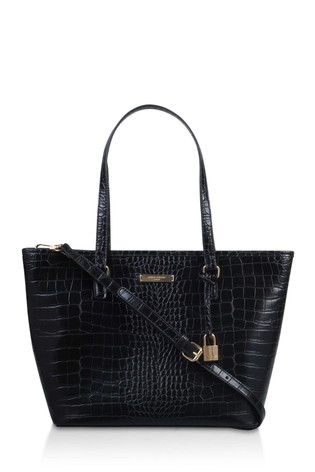 Kurt Geiger London Black Essex Shopper With Zip