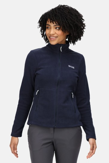 Regatta Blue Floreo III Full Zip Fleece