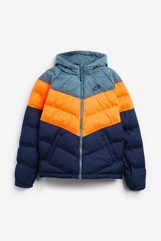 Nike Navy/Grey Filled Jacket