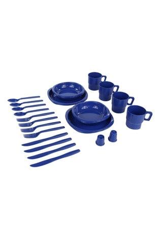 Regatta Blue 4 Person Picnic Set