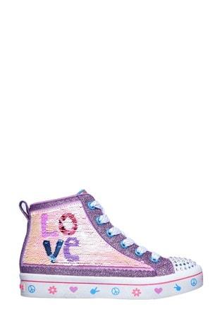 Skechers® Twi-Lites 2.0 Lilac Love Shoes