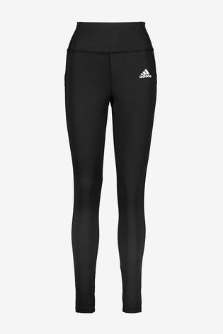 adidas 3 Stack Logo D2M High Waisted Leggings