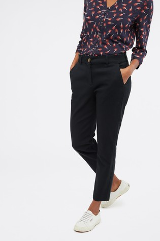 White Stuff Charcoal Sussex Stretch Trousers