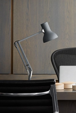 Anglepoise 75 Jet Black Mini Desk Lamp