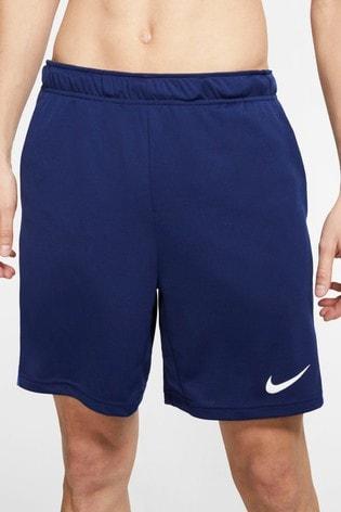 "Nike Dri-FIT Navy 5"" Training Shorts"
