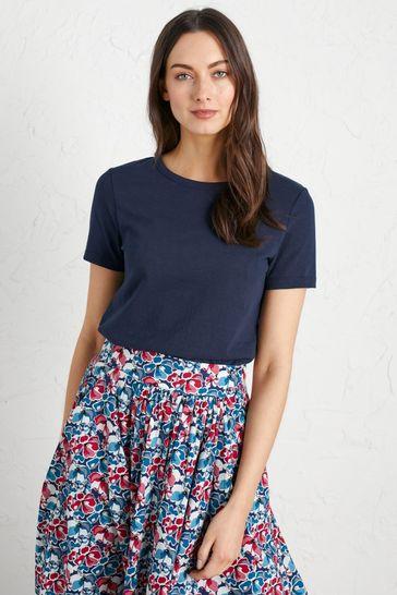 Seasalt Cornwall Blue Reflection T-Shirt - Petite