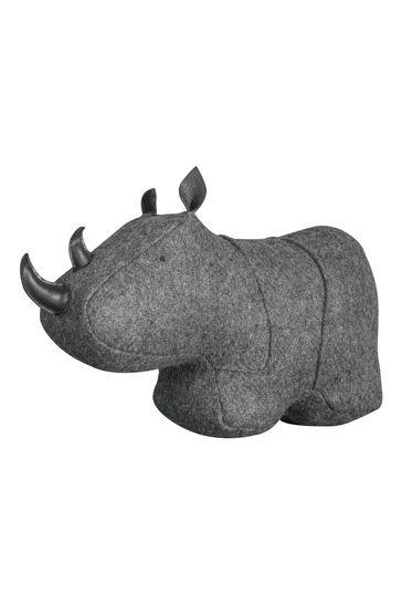 Reggie Rhino Doorstop by Gallery Direct