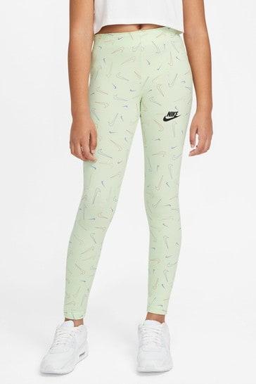 Nike Older Girls Swooshfetti Leggings