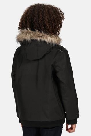 Regatta Black Balzo Waterproof Jacket