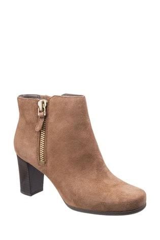 Rockport Coconut Suede Total Motion Trixie Bootie 2 Shoes