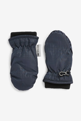 Navy Thinsulate™ Ski Mittens (Younger)
