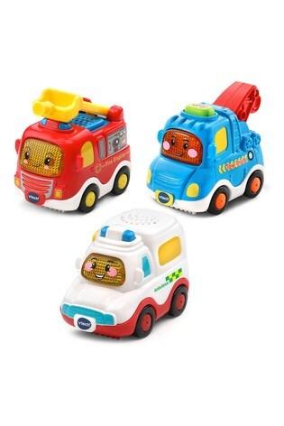 VTech TT Drivers 3 Pack Emergency Vehicles 242163