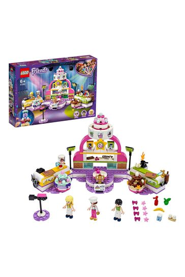 LEGO 41393 Friends Baking Competition Set With Toy Cakes