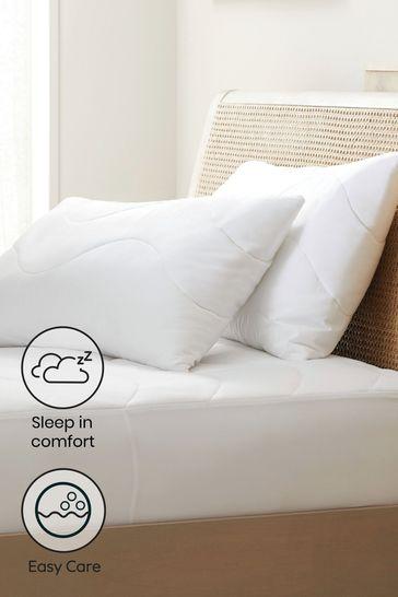 Sleep In Comfort Set Of 2 Pillow Protectors
