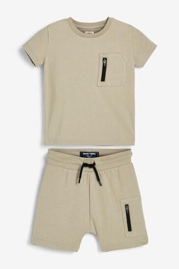Stone T-Shirt And Shorts Set (3mths-7yrs)