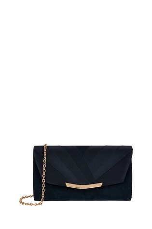 Monsoon Pleated Occasion Clutch Bag