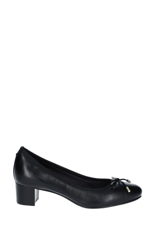 Rockport Black Total Motion Gitty Luxe Bow Shoes
