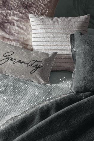 Rita Ora Grey Florentina Mist Duvet Cover