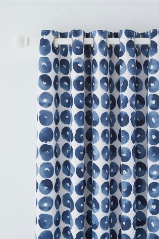 Helena Springfield Ornella Spot Eyelet Curtains