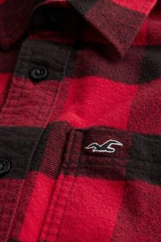 Hollister Buffalo Check Flannel Shirt