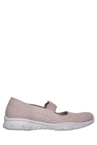 Skechers® Seager - Power Hitter Engineered Knit Mary Jane Shoes