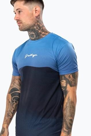Hype. Mens Blue Black Sands T-Shirt