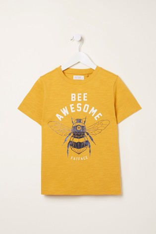 FatFace Sunshine Bee Awesome T-Shirt