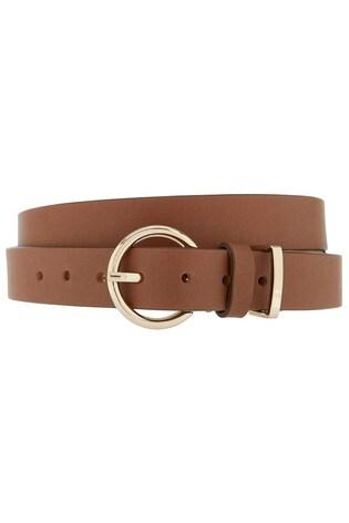 Accessorize Tan Leather Belt