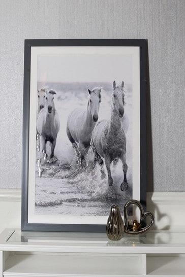 Wild Horses Framed Print by Arthouse