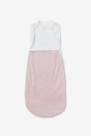 MORI Pink Newborn Swaddle Bag