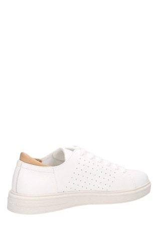 Buy GANT White Fairville Low Lace Shoes