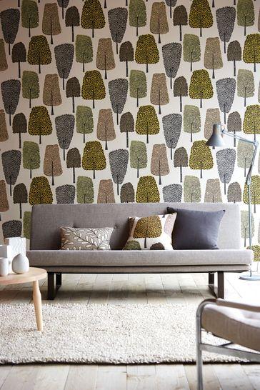 Scion Natural Cedar Wallpaper