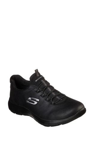 Skechers® Black Summits Itz Bazik Trainers