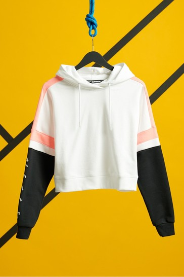 Superdry Streetsport Cropped Hoody