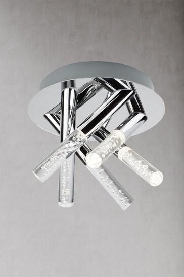 Fizz 5 Light Bathroom Flush Light by Searchlight