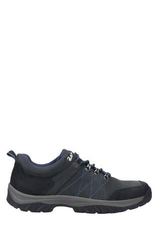 Cotswold Blue Toddington Lace-Up Shoes