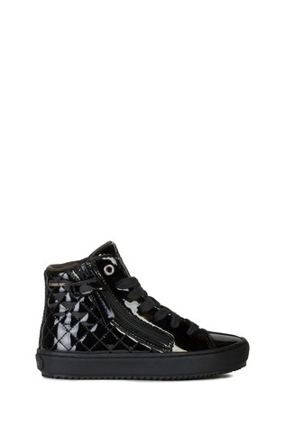 Geox Junior Girl's Kalispera Black Sneakers
