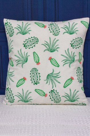 Desert Cactus Cushion by Riva Home