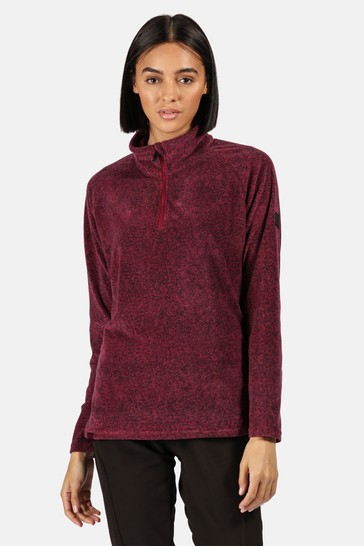 Regatta Purple Pimlo Half Zip Fleece