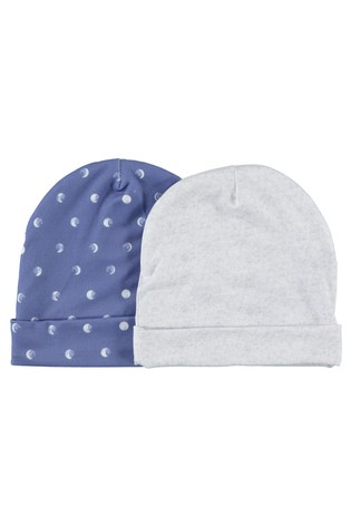 aden + anais Blue Luna Baby Hats Two Pack Gift set