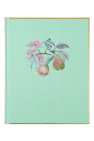"""Paperchase 8x10"""" Foil Satin Notebook"""